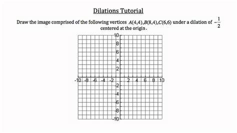 Math Dilation Worksheet  Math Worksheets On Scale Factors Educational Activitiesmath