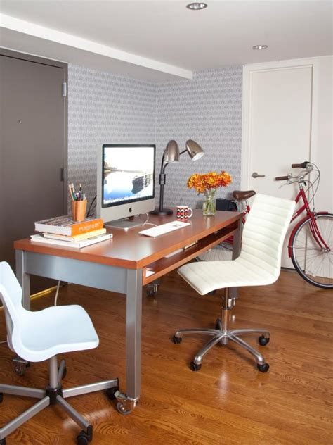 Small Bedroom And Office by Decorating Ideas For A Small Bedroom Or Home Office Hgtv