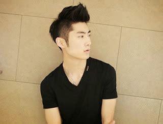 sederhana trend gambar model gaya rambut pria korea terbaru