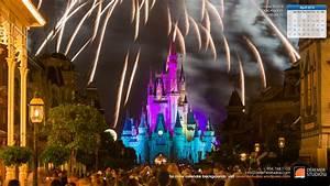 2014 04 April Wallpaper – Disney World Fireworks Castle ...