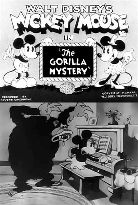 Gorilla Resumen by Mickey Mouse El Misterio Gorila 1930 Filmaffinity