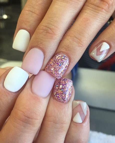 kurze nägel design kurze gel nail design ideen
