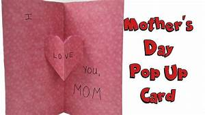 Mother's Day Pop Up Card - DIY with Kid Friendly Toys ...