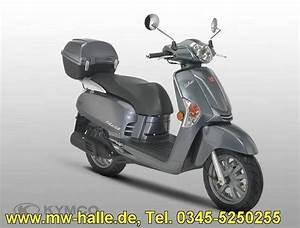 Kymco Roller 50ccm : like 50 ccm 2 takt grau metallic inkl topcase kymco ~ Jslefanu.com Haus und Dekorationen
