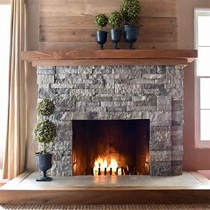 Airstone, Fireplace, Makeover