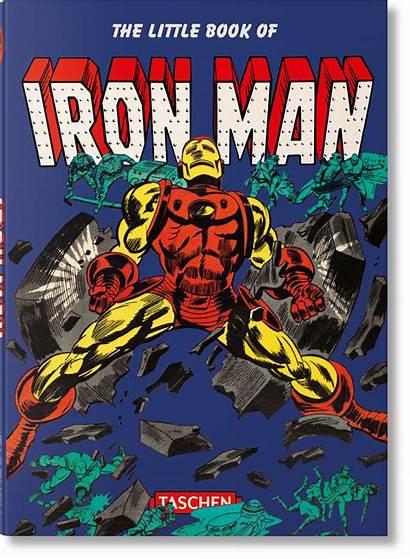 Iron Marvel Comics Taschen Books Graphic Hewlett