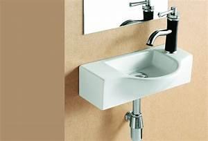 Gäste Wc Handwaschbecken : lux aqua waschbecken g ste wc handwaschbecken zur wandmontage neu 4523b hamburg ~ Markanthonyermac.com Haus und Dekorationen