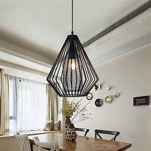 Industrial pendant lights vintage restaurant bar foyer