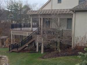 deck construction columbus ohio columbus decks porches and patios by archadeck of columbus