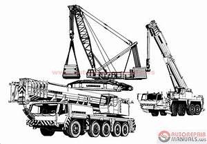Auto Repair Manuals  Liebherr Crane Service Manual