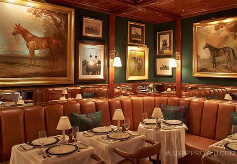 at home decor the polo bar ralph lauren s first restaurant in new york 10128 | 12182014 polo bar gallery fs 01