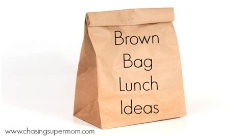 brown bag lunch ideas brown lunch images