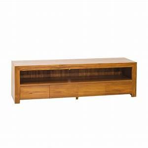 Meuble Bas But : meuble tv blanc et noir laque conforama ~ Teatrodelosmanantiales.com Idées de Décoration