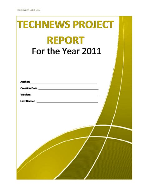 project report template  formats excel word