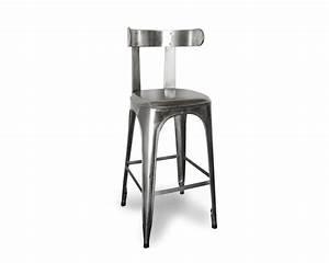 Chaise Bar Industriel : chaise tabouretdebarboisetblanc collection avec tabouret ~ Farleysfitness.com Idées de Décoration