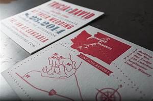 suncadia wedding invitations pike street press With wedding invitation printing seattle
