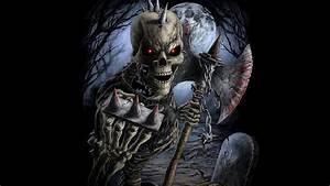 Evil Dark Skull Wallpaper - 52DazheW Gallery
