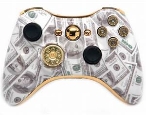 QuotMONEY BULLETSquot XBOX 360 MODDED CONTROLLER ModdedZone