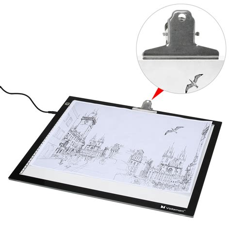 art light box for drawing voilamart a2 led tracing light box stencil drawing board