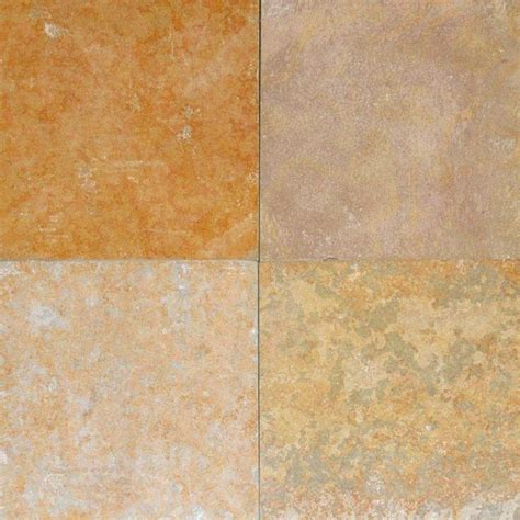 is slate for kitchen floors kota honey brown slate gauged tiles 16x16 10 pieces 9021
