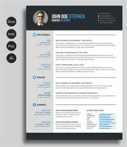 Free Creative Resume Templates Doc by 40 Best Free Resume Templates 2017 Psd Ai Doc Free Printable Resume Free Printable And Template