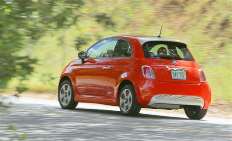 Fiat Performance by 2015 Fiat 500e Electric Car With Zero Emissions 7612