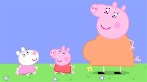 Baby Peppa Pig And Baby Suzy