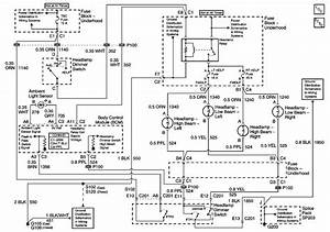 2000 Silverado Headlamp Wiring Diagram