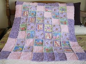 You have to see Baby girl rag quilt by loraj!