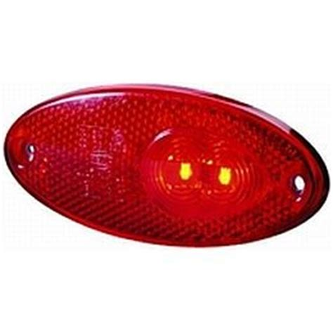 hella  series oval led side markertail lamp