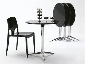 Table Metal Exterieur : 3 pod pour bars et restaurants table en m tal plateau ~ Teatrodelosmanantiales.com Idées de Décoration