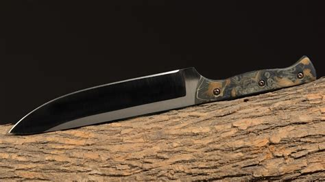 making  camp knife part  prepper camping survival