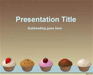 cupcakes recipe powerpoint template With powerpoint recipe template