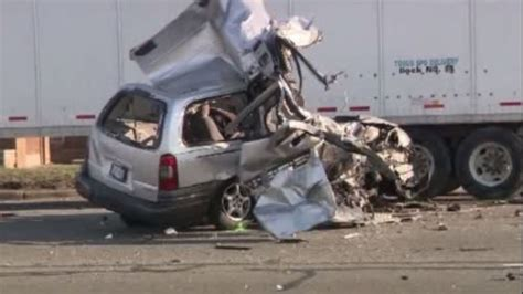 Man Recovering After Car Crashes Into Semi-truck