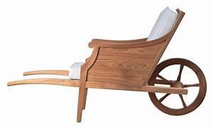 Philippe Starck Oeuvre : fauteuil ceci n 39 est pas une brouette outdoor teck ~ Farleysfitness.com Idées de Décoration