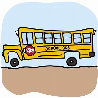 Bus Clip Trip Field Cartoon Trips Clipart