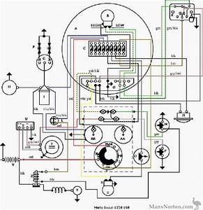 Moto Guzzi V750 Wiring Diagram