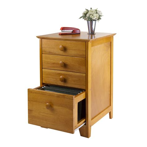 wooden file cabinets amazon amazon com winsome wood file cabinet with 4 drawers