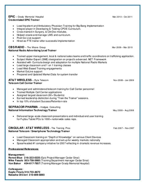 successful project manager resume a successful it rsum