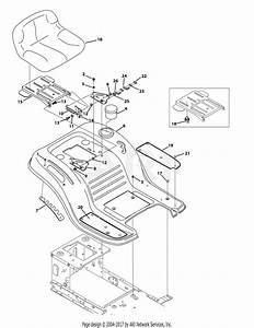 Troy Bilt 13am77ks011 Pony  2014  Parts Diagram For Seat