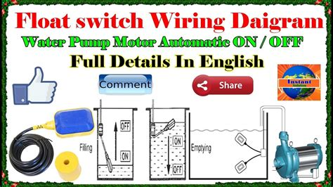 How Install Float Switch Wiring Control Diagram