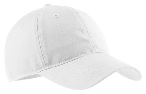 Port & Company Cp96 Soft Brushed Canvas Cap White One Size