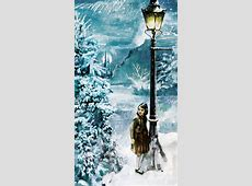 Disney Fine Art Lucy and the Lamppost by Jim Salvati