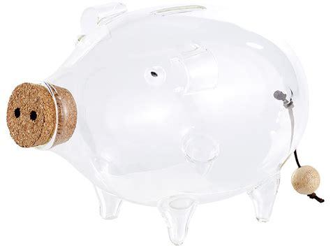 sparschwein aus glas carlo spardose gro 223 glas deko xl sparschwein aus