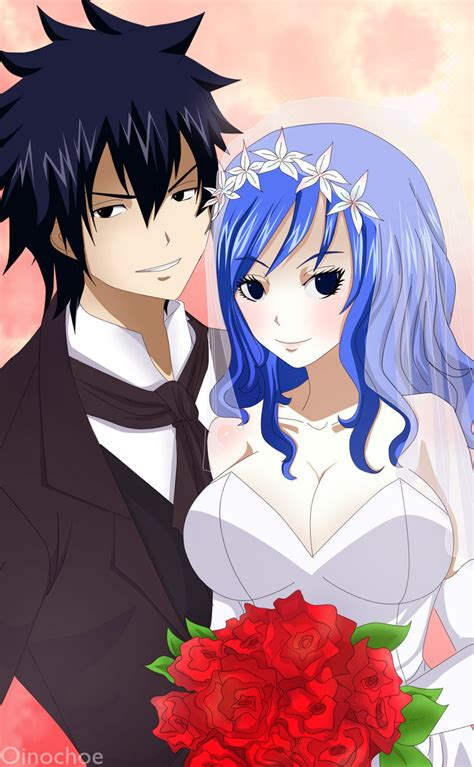 gruvia wedding fairy tail photo  fanpop