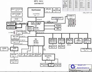Hp Compaq Nx9000 Nx9030 Nx9040  U0026 Presario 2100 Schematic