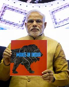 'Make In India' Logo Designed By Foreign Firm