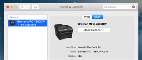 scanner   mac os  computer