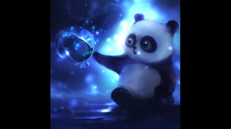 Anime Animated Wallpaper For Pc - panda with magic sphere animated wallpaper engine