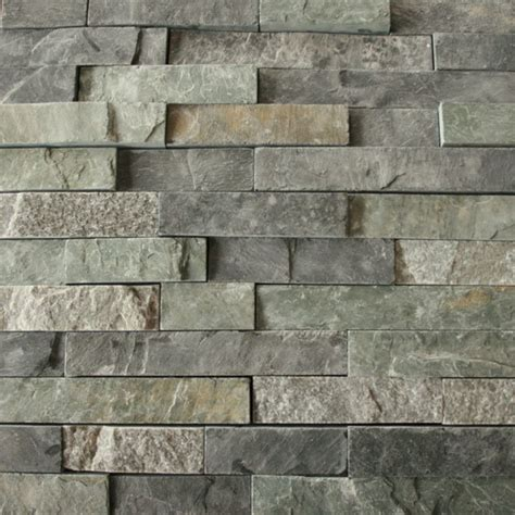 stacked slate wall tile china green slate stack stone veneer cultural stone ledgestone for wall cladding photos